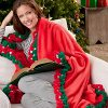 12 Free Holiday Crochet Afghan Patterns