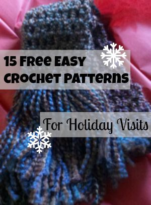 17 Free Easy Crochet Patterns for Holiday Visits