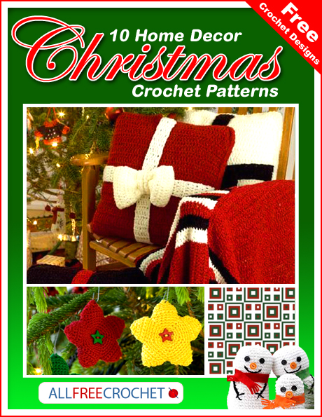 Free Crochet Designs: 10 Home Decor Christmas Crochet Patterns
