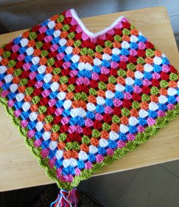 CROCHET PATTERNS LITTLE GIRLS PONCHOS FREE CROCHET PATTERNS