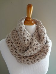How to Crochet an Infinity Scarf - About
