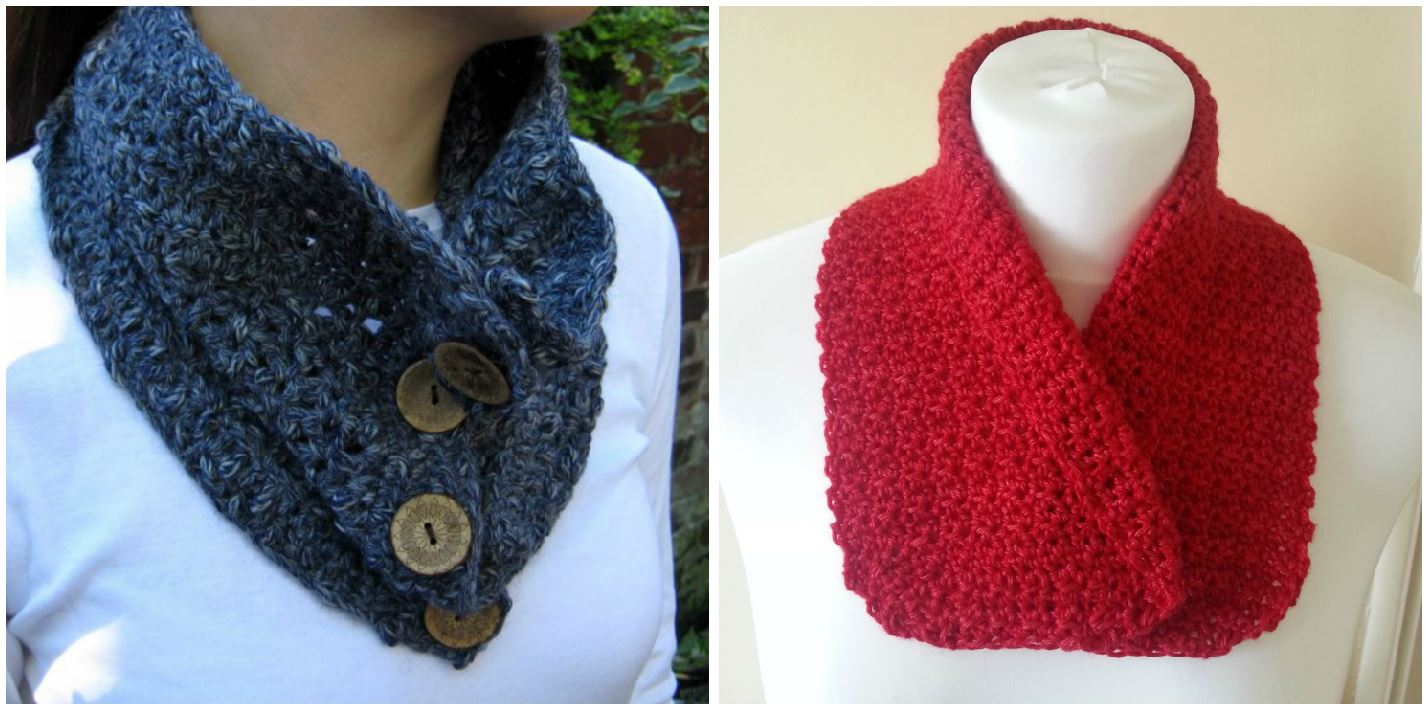 All Free Crochet Pattern Book ~ Make a Crochet Cowl ~ Crochet Addict UK