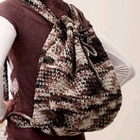 Crochet Backpack Bag Pattern : 23 Free Crochet Patterns for Bags + 2 Bonus Bags