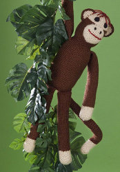 FREE SOCK MONKEY CROCHET PATTERNS - CHEMKNITS