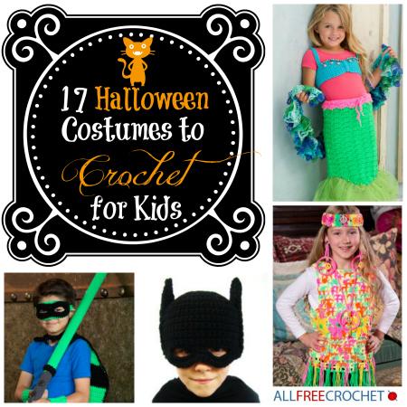 17 Halloween Costumes to Crochet for Kids AllFreeCrochet.com