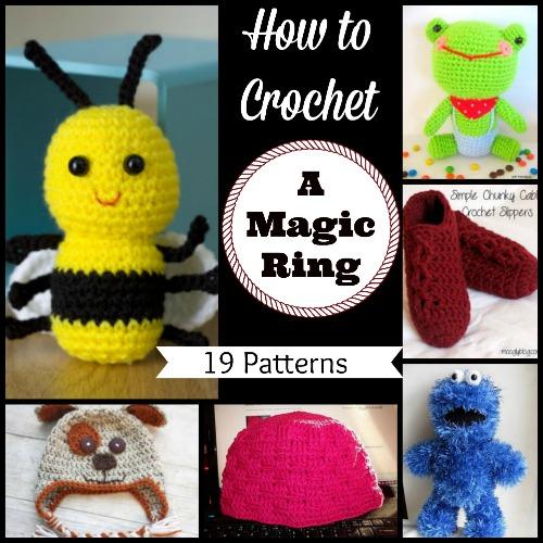 How To Start Amigurumi Magic Ring : How to Crochet a Magic Ring: 19 Patterns AllFreeCrochet.com
