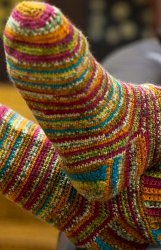Rainbow Sherbert Socks