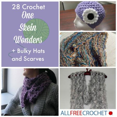 One Skein | Crochet Scarf Pattern