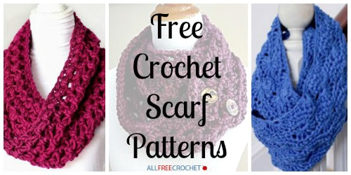 Free Crochet Scarf Patterns