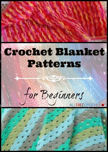 Crochet Quilt Patterns Beginners : 22 Crochet Blanket Patterns for Beginners AllFreeCrochet.com