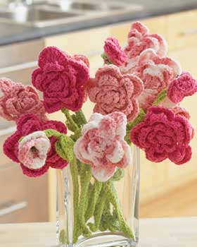 Free crochet rose pattern - Learn how to crochet