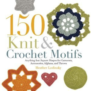 Knitting And Crochet Books : 150 Knit and Crochet Motifs Book AllFreeCrochet.com