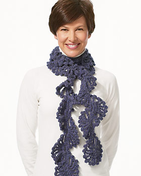 How to Crochet a Fuzzy Fun Fur Scarf - Mahalo.com