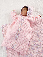 Crochet Pattern Central - Free Baby Buntings, Cocoons, & Sleep