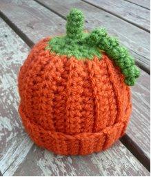 Little Things Blogged: {Halloween and a Crochet Pumpkin
