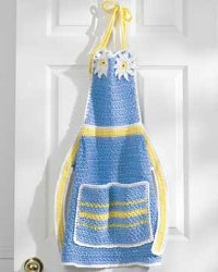 Free Crochet Pattern - Dish Soap Apron from the Kitchen Free