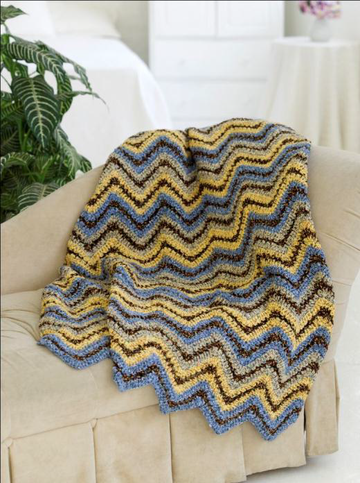 Www All Free Crochet Com : 25 Afghan Patterns from Red Heart Yarn eBook AllFreeCrochet.com