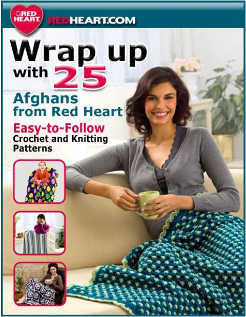 25 Afghan Patterns from Red Heart Yarn