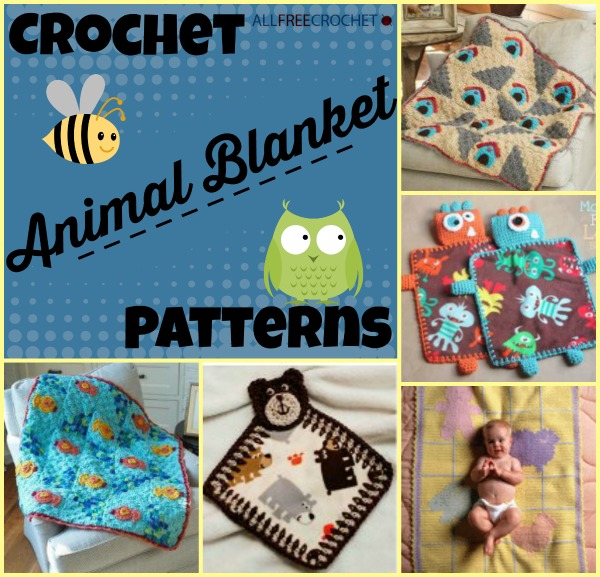 Crochet Animals For Babies
