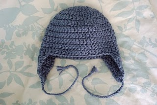 UPDATE: Pattern added! another ear flap hat i made - CROCHET