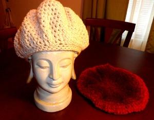 Crochet Beret Hat Pattern Easy : Easy Beanie/Beret Hat AllFreeCrochet.com