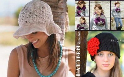 Crocheted Christmas Gifts for Friends: Crocheted Hats and Scarves
