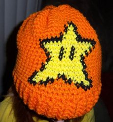 Child's Invincibility Star Convertible Hat