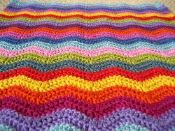 Ripple Crochet Baby Afghan Pattern