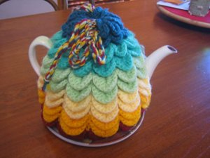 Free Crochet Patterns: POODLE TEAPOT Cozy/Cosy Crochet Pattern for