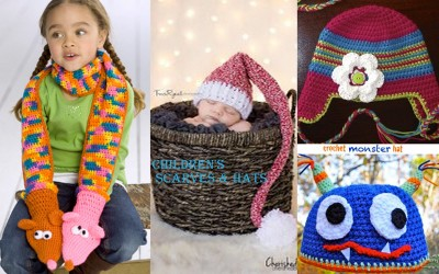 Homemade Christmas Gifts for Kids: Children's Scarves and Hats