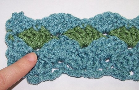 Learn how to Crochet the Shell Stitch with these step by step crochet ...