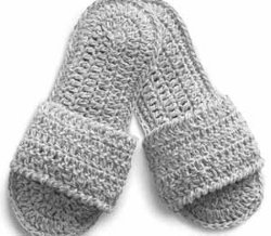 Poodle Slippers Free Crochet Pattern - KarensVariety.com