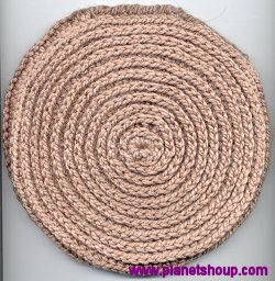 Crochet Patterns Only: Spiral Scrubbie updated 6/24/09)