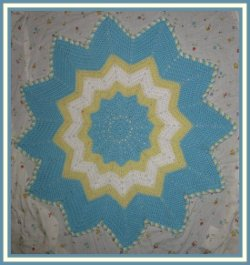 Free Crochet Pattern for Round Motif Afghan | FaveCrafts.com