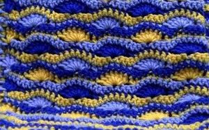 Wavy Shell Blanket