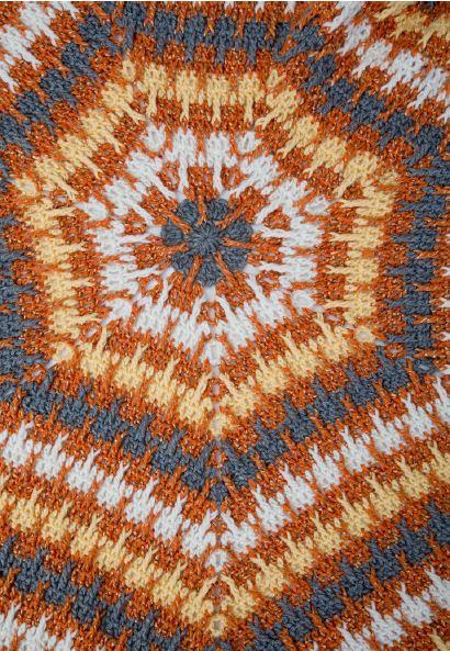 Pumpkin Spice Crochet Afghan Allfreecrochet Com