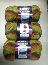 Win Bernat Mosaic Yarn from AllFreeCrochet - Stitch and Unwind