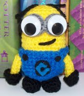 Crochet Patterns Minions Despicable Me : Minion from Despicable Me Amigurumi AllFreeCrochet.com