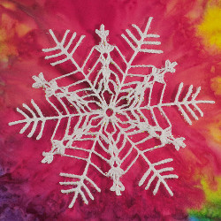 17 Crochet Christmas Ornaments: Snowflakes