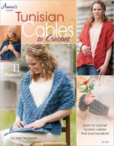 Tunisian Cables to Crochet New Book Giveaway on AllFreeCrochet: Tunisian Cables to Crochet