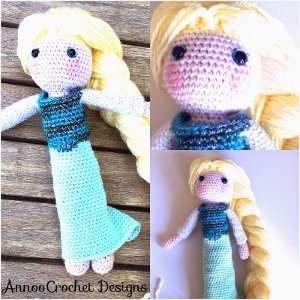 Crochet Elsa Amigurumi : 32 Free Crochet Toy Patterns AllFreeCrochet.com