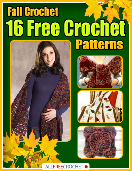 Download your copy of Fall Crochet: 16 Free Crochet Patterns today!