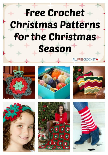 Christmas Crochet Patterns for the Christmas Season