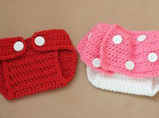 Crochet Pattern Central Diaper Cover : 13 Free Crochet Diaper Cover Patterns and Baby Crochet ...